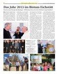 Jahresrückblick 2013 der Kirchenzeitung für das Bistum Eichstätt - Page 2
