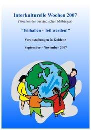 Programm Interkulturelle Wochen-2007.cdr - Der Beirat für Migration ...