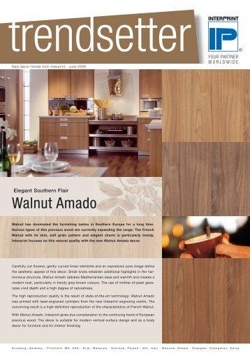 Walnut Amado - interprint
