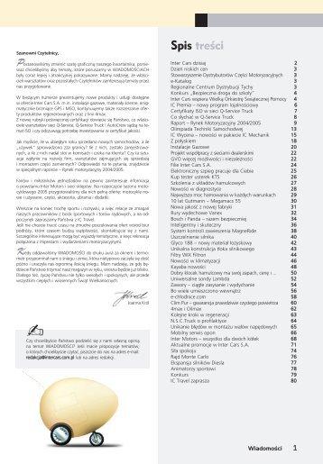 Wiadomości 14/2005 - Inter Cars SA
