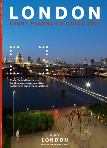 Contents : Event planner guide : Visit London - International Confex