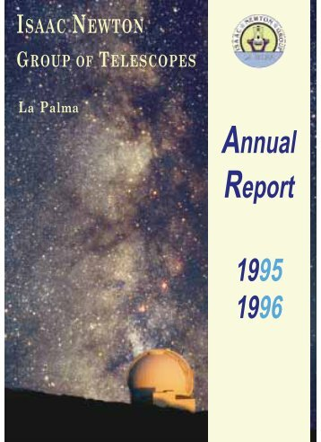 PDF (391K) - Isaac Newton Group of Telescopes - Instituto de ...