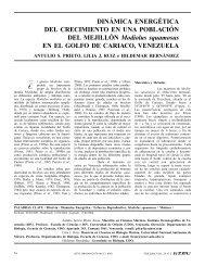 DINÁMICA ENERGÉTICA DEL CRECIMIENTO EN ... - Interciencia