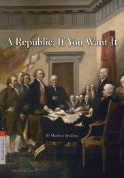 A Republic, If You Want It - InsiderOnline