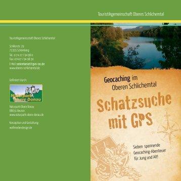 Download Geocaching Broschüre - Oberes Schlichemtal