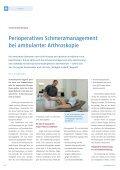 Perioperatives Schmerzmanagement bei ambulanter Arthroskopie - Seite 2