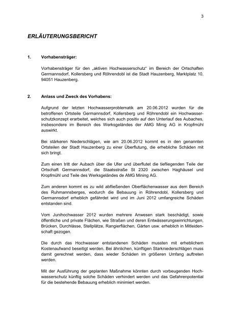 Konzept vom 22.04.2013 - Stadt Hauzenberg