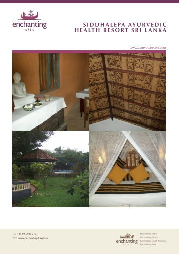 siddhalepa ayurvedic health resort sri lanka - Enchanting-India