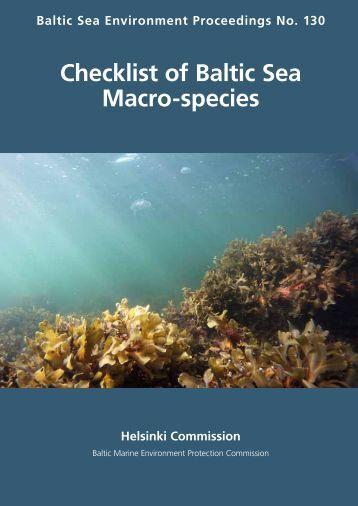 Checklist of Baltic Sea Macro-species - IOW
