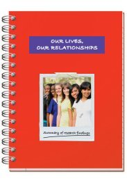 'Our Lives, Our Relationships' Resource for young people - part 1 (pdf