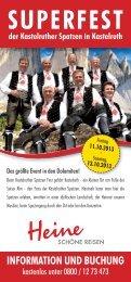 SUPERFEST - Heine - schöne Reisen