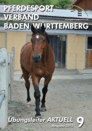 Ausgabe 09/2013 - Württembergischer Pferdesportverband eV