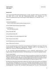 2013-07-15 Protokoll Frühzeitige ... - Stadt Herdecke
