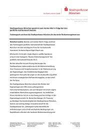 Stadtsparkasse München gewinnt zum vierten Mal in Folge bei den ...