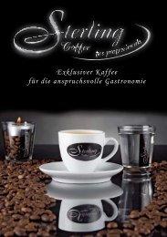 Exklusiver Kaffee für die anspruchsvolle Gastronomie - Sterling Coffee