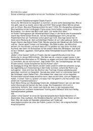 Ein Kick fürs Leben (BNN vom 24.07.2010 - AWO Karlsruhe