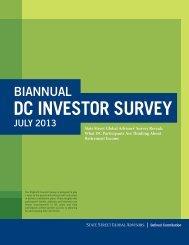 Biannual DC Investor Survey - State Street Global Advisors