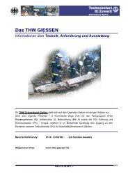 Einsatzhandakte THW Giessen - Technisches Hilfswerk Ortsverband ...
