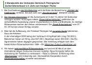 Zuckermarktreform und mögliche Konsequenzen für Thüringer ...