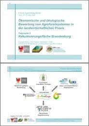 Rekultivierungsfläche Brandenburg - Thüringer Landesanstalt für ...