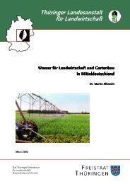 Wasser für Landwirtschaft und Gartenbau - Thüringer Landesanstalt ...