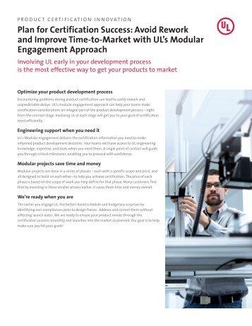 Modular Engagement Approach - UL.com