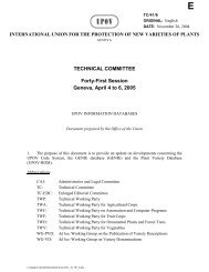 TECHNICAL COMMITTEE Forty-First Session Geneva, April 4 to 6 ...