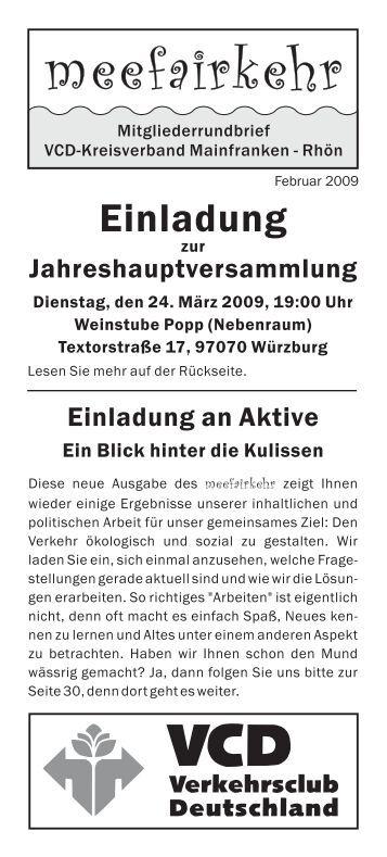 meefairkehr 2009 - VCD
