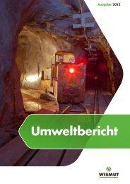 Umweltbericht 2012 - Wismut GmbH