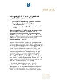 Pressetext herunterladen (PDF, 104 KB) - ZF Friedrichshafen AG