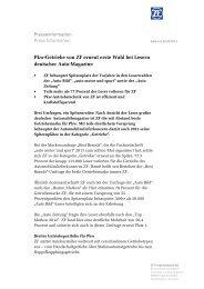 Pressetext herunterladen (PDF, 96 KB) - ZF Friedrichshafen AG
