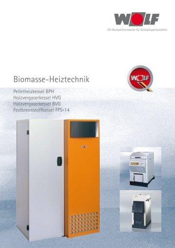 Biomasse-Heiztechnik (PDF-File, 872.9 KB) - Bad & Wohnen