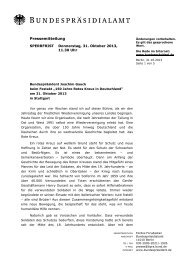 Joachim Gauck - DRK