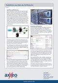 Produktflyer - axxeo GmbH - Seite 3