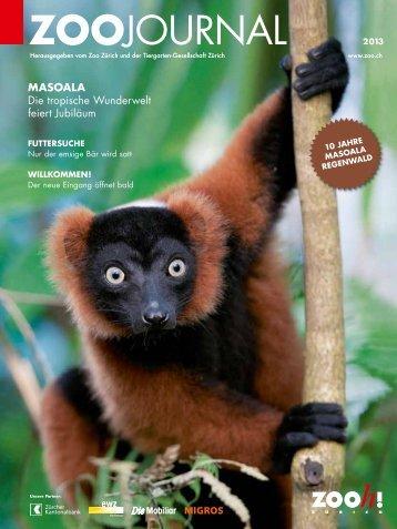 Zoojournal 2013 [PDF, 4.00 MB] - Zoo Zürich