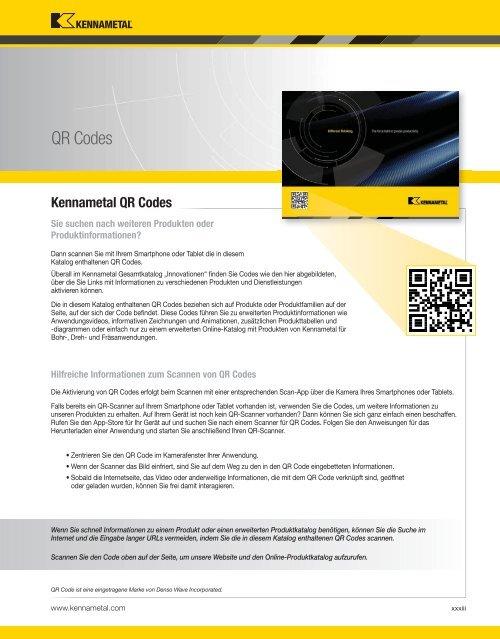 Kennametal WERKZEUGSYSTEME13 — Intro Services