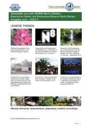 Newsletter aus dem BGBM Berlin-Dahlem Ausgabe Juni – 6/2013 ...