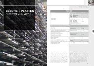 woRLd of mETALS BlEcHE + PlattEn - BIKAR-METALLE GmbH