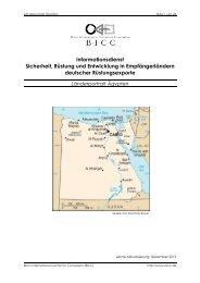 Informationsdienst Sicherheit, Rüstung und Entwicklung in ... - BICC