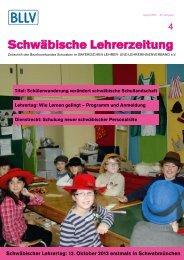 Schwäbische Lehrerzeitung - BLLV