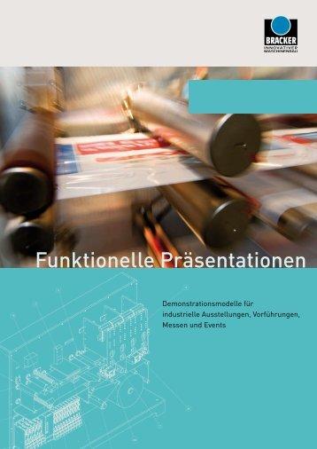 Funktionelle Präsentationen - BRACKER GmbH