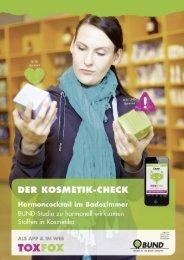 Der Kosmetik-Check - Bund