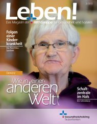 Leben! - Caritas-Krankenhaus Bad Mergentheim