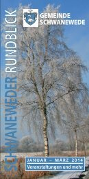 Schwaneweder Rundblick 1/2014