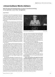 Rede vor der UN-Generalversammlung - Deutsche Gesellschaft für ...