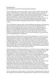 Die Revolution von 1918/19 in der deutschen ... - fontaneum.de