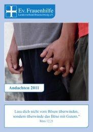 Andachtsheft_2011 - Evangelische Frauenhilfe, Landesverband ...