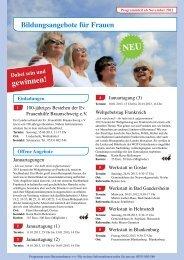 gewinnen! - Evangelische Frauenhilfe, Landesverband ...