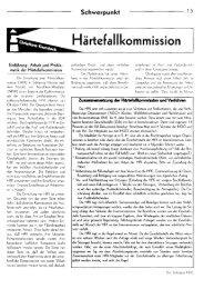 Härtefallkommission - Flüchtlingsrat Schleswig-Holstein eV