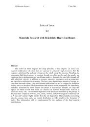 Materials Research with Relativistic Heavy Ion Beams - GSI